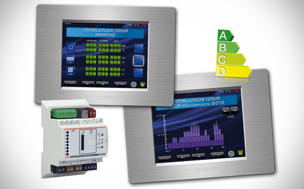 Check your consumption with AVE Energy Saving and Load Control Device