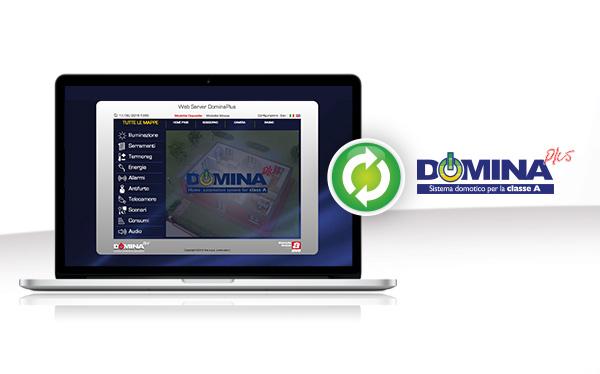 Gestisci la tua casa con il nuovo Web Server DOMINA plus