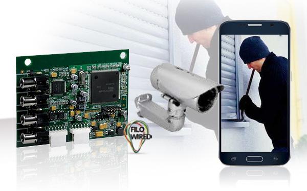 Video-verifica via email e MMS con la nuova scheda AFTVCC01