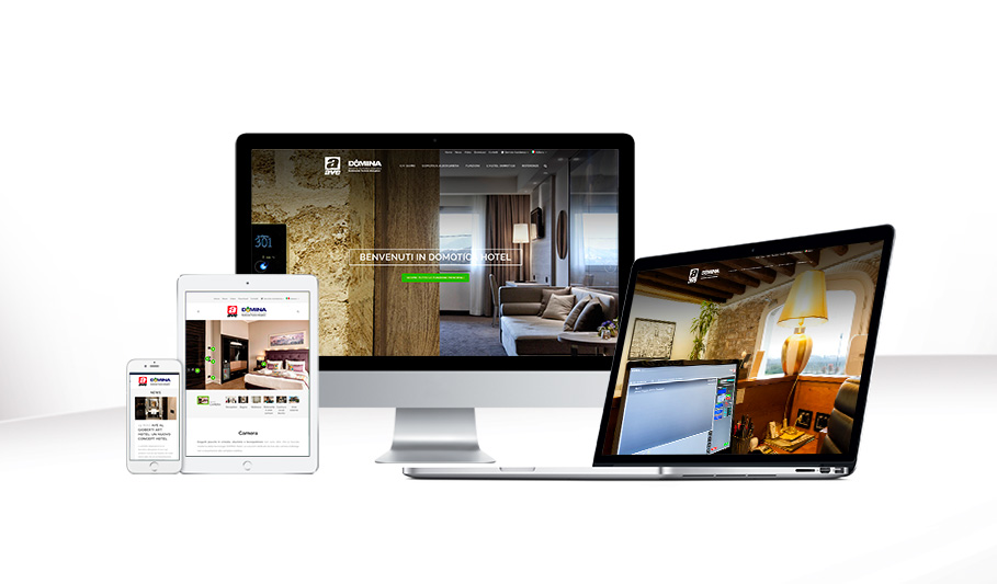 It's online new AVE website hotel automation