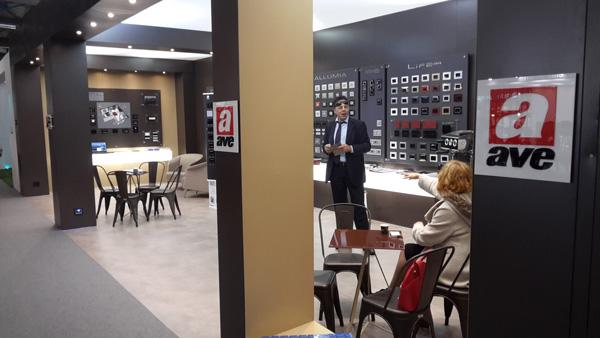 Atene, 100% HOTEL SHOW: AVE e la sua proposta domotica