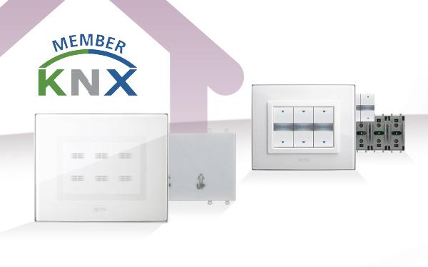 É nata la nuova gamma di comandi con tecnologia KNX