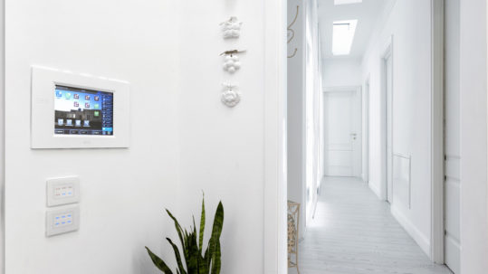 AVE home automation: touch technology as an everyday reality