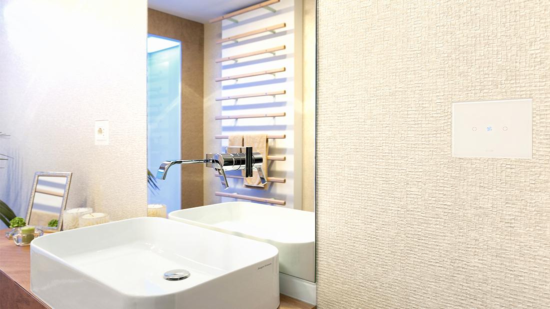 Una casa domotica AVE touch ventilazione