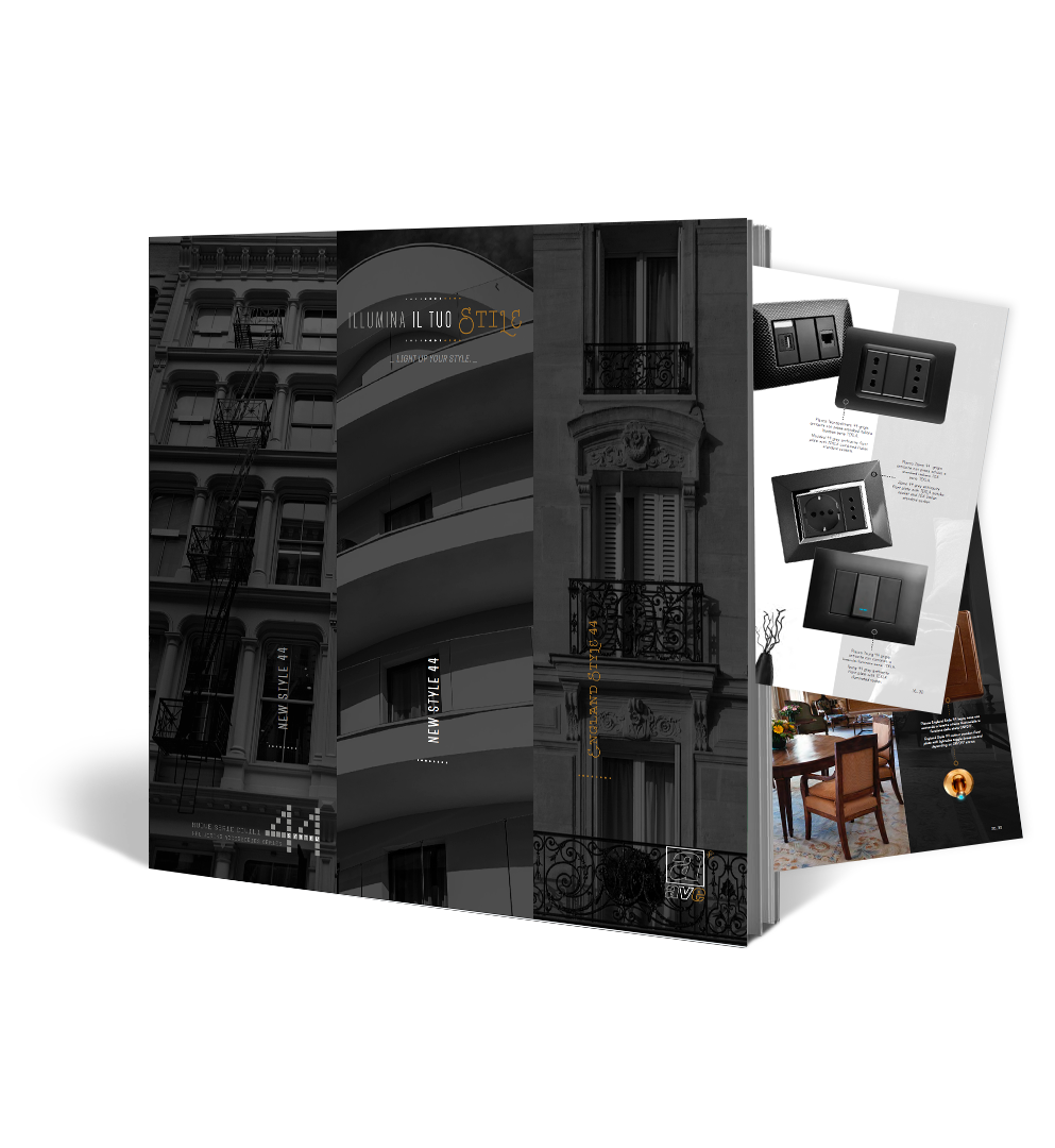 Brochure New Style England & Style Ave