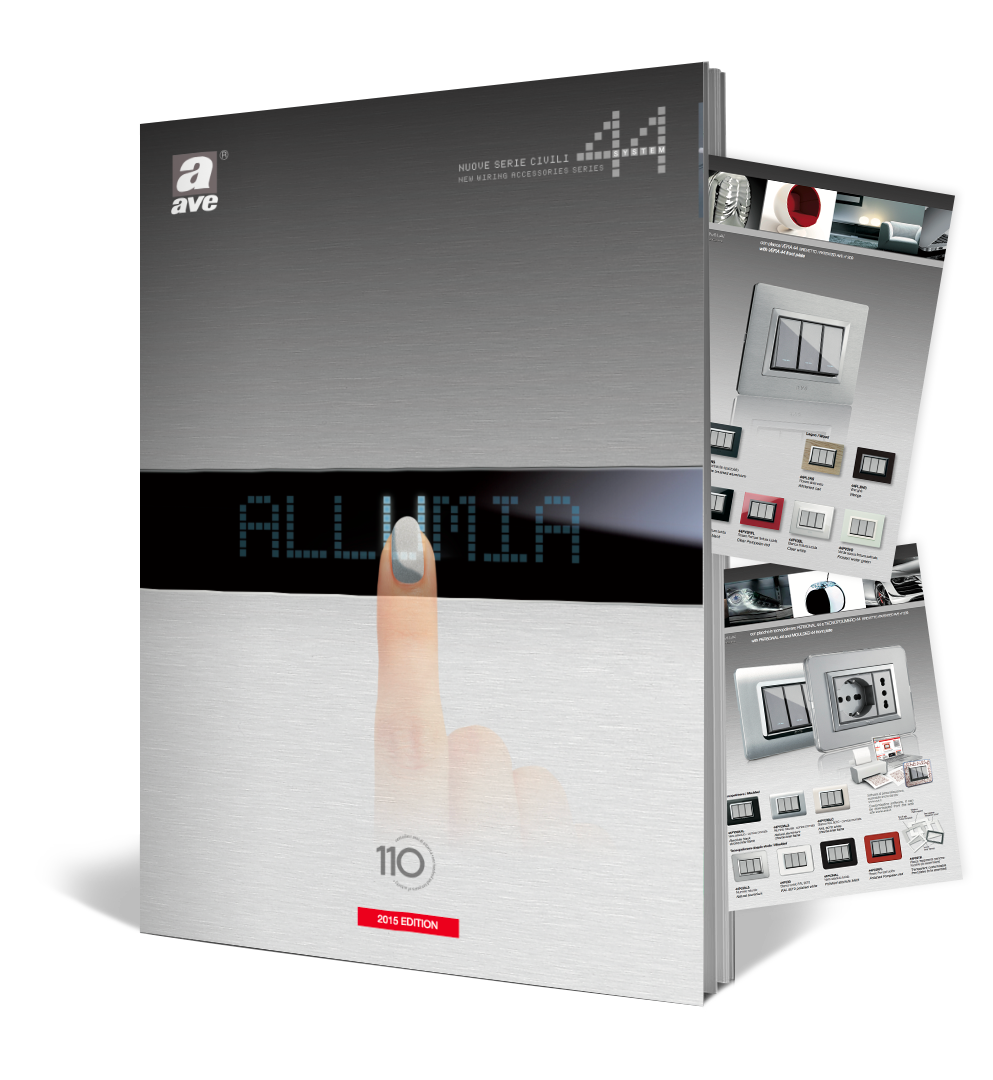 Brochure Allumia Touch Ave