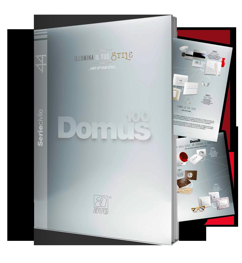 Poster Domus 100 Ave