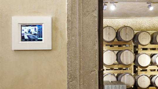 La domotica AVE nell'azienda vinicola Villa Rinaldi