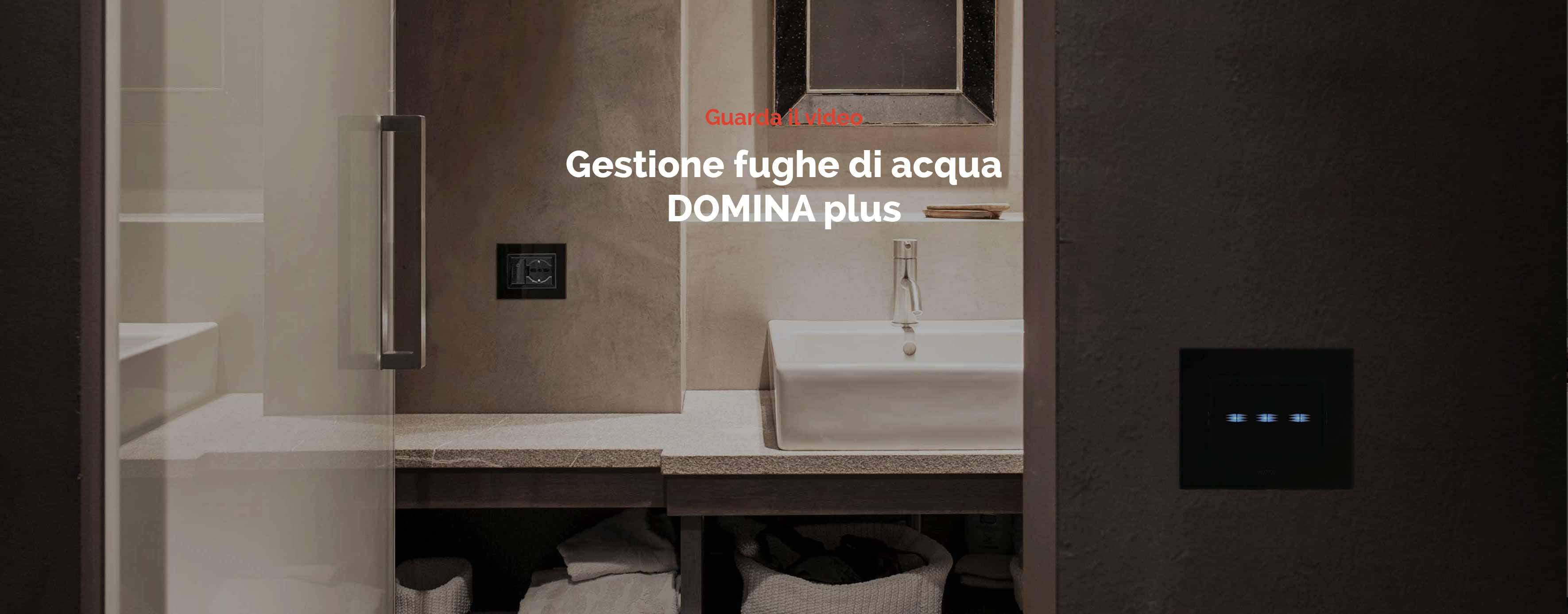 Video Domotica Fughe d'acqua - Ave Domina Plus