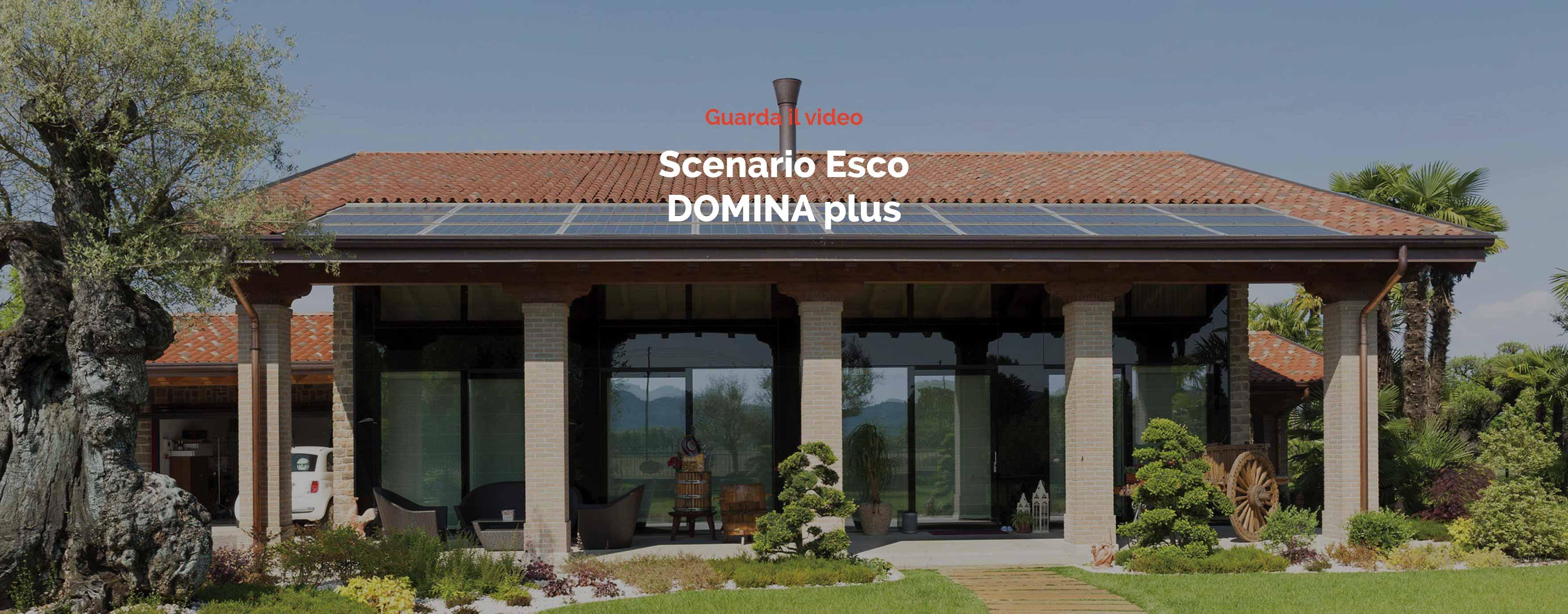 Video Domotica - Scenario domotico - Uscita Ave Domina Plus
