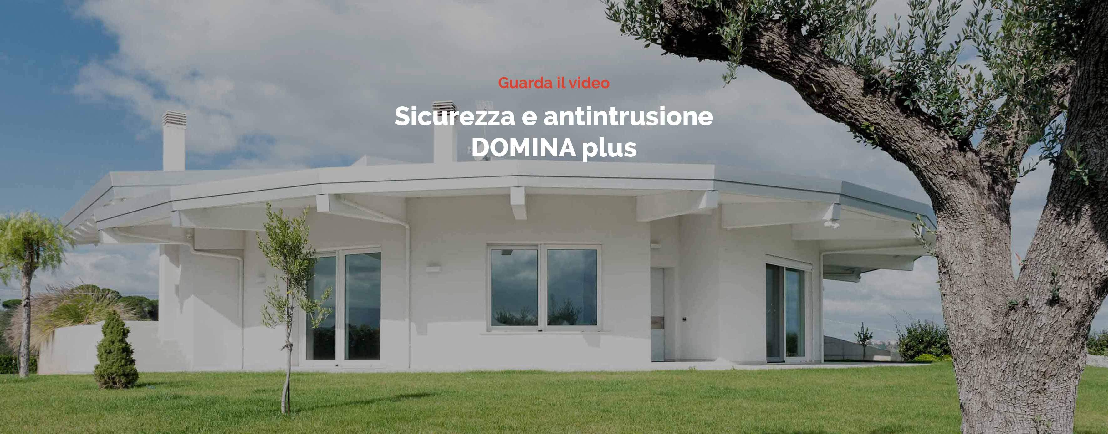 Video Domotica Sicurezza e Anti Intrusione - Ave Domina Plus