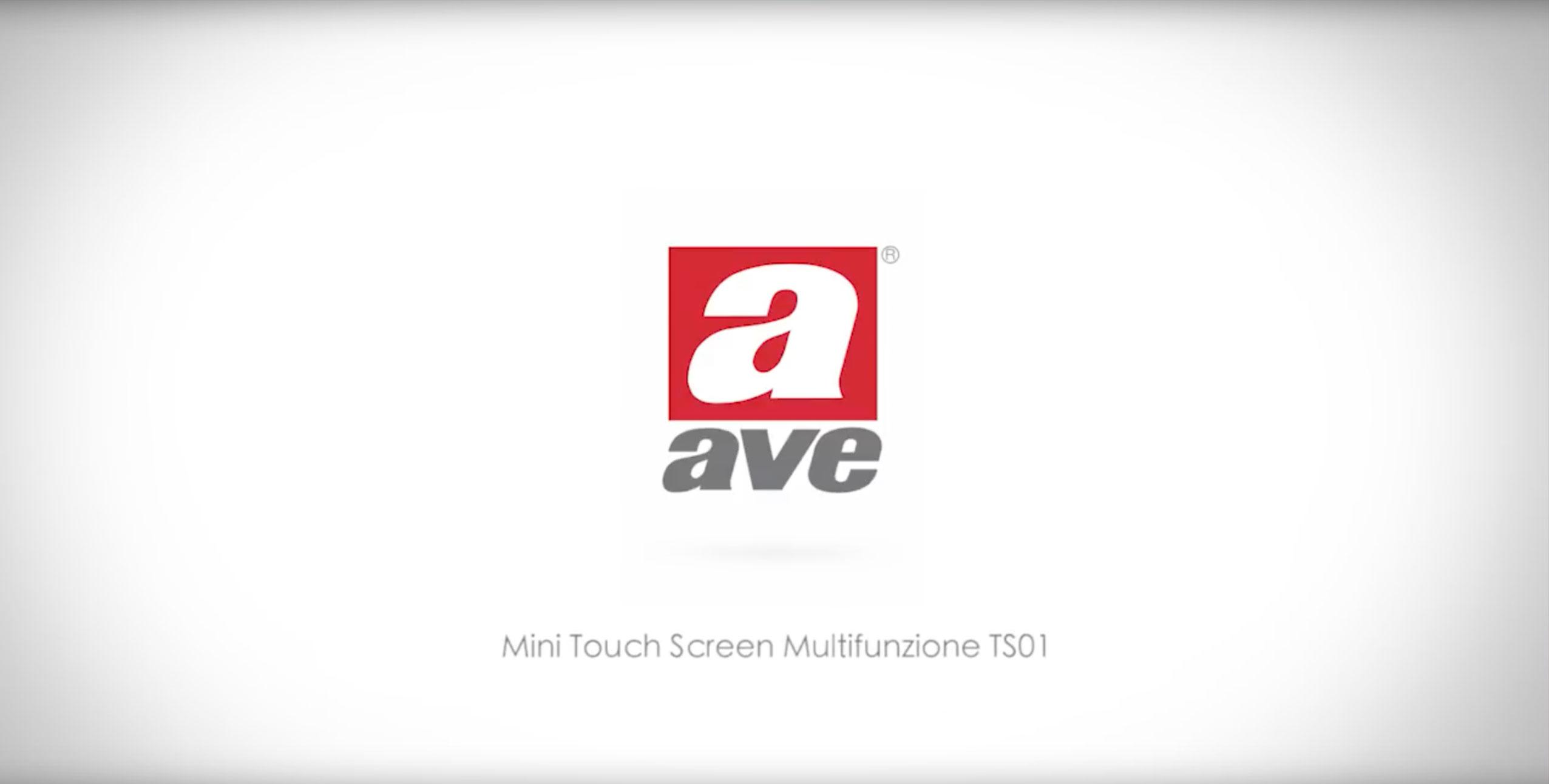 Mini TouchScreen domotico Multifunzione TS01
