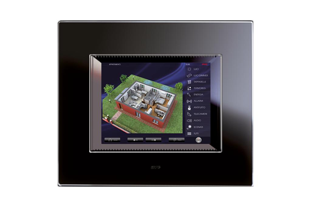 Video controllo da touch screen