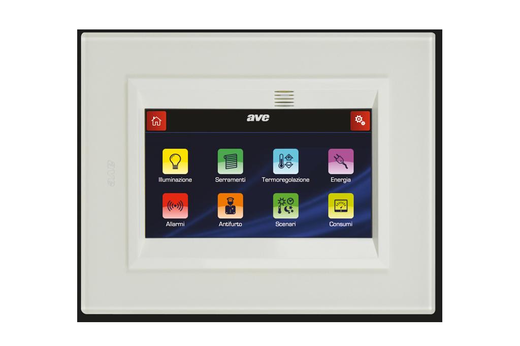 Mini touch screen tuttofare con design orientabile