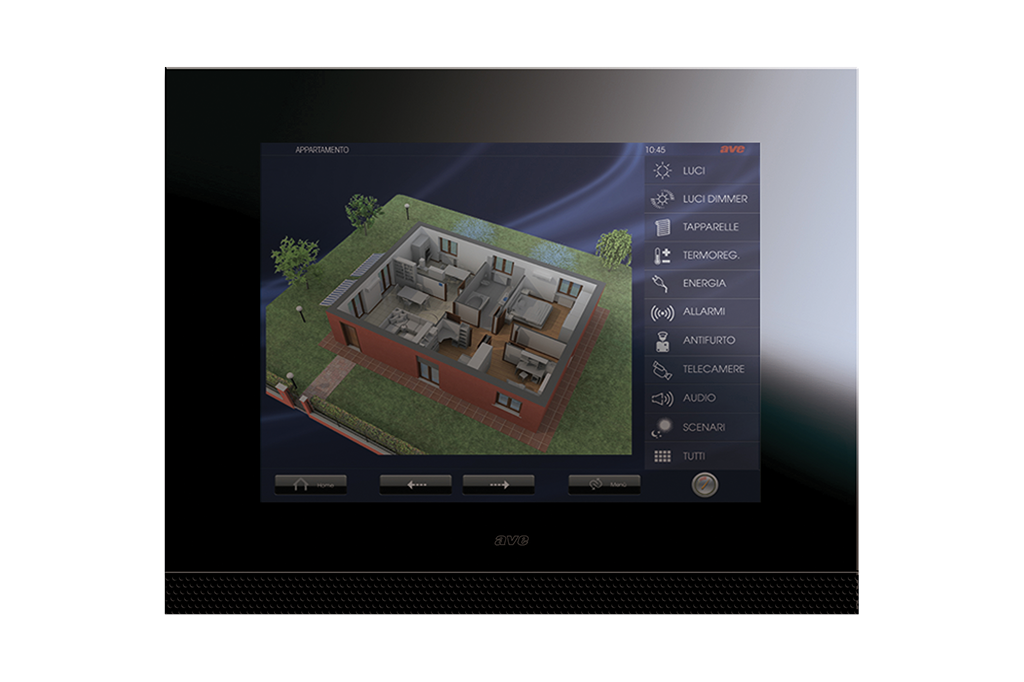 Touch screen 15 pollici, l'ultima frontiera della domotica residenziale