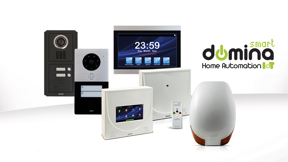 DOMINA Smart is born: a single integrated system for home automation, anti-intrusion and video intercom