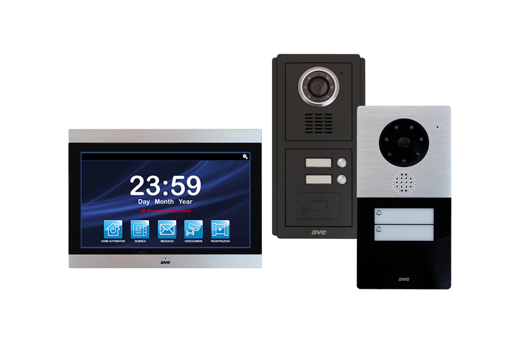 Video Intercom and automation in smart home