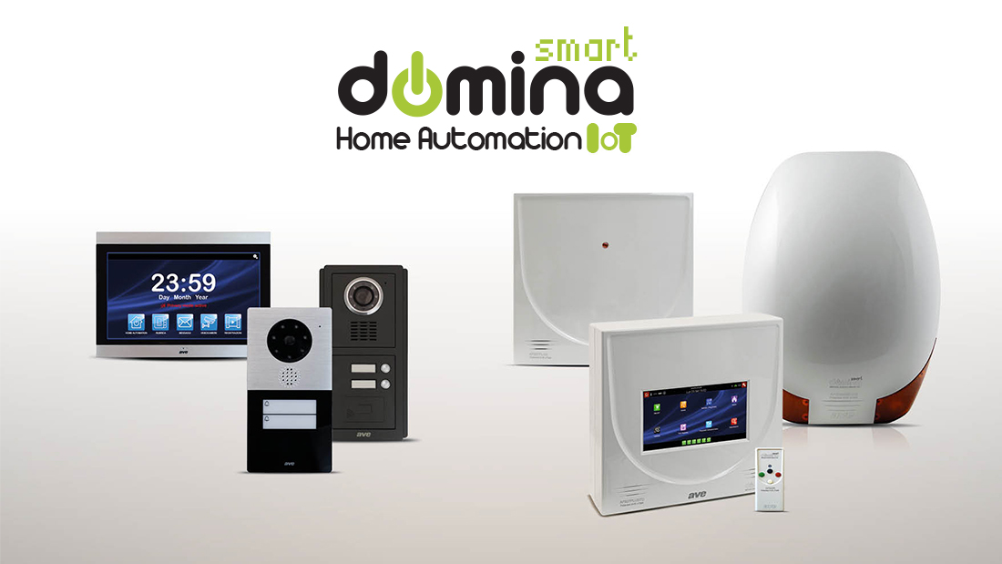 DOMINA Smart home automation integration: anti-intrusion and video intercom systems