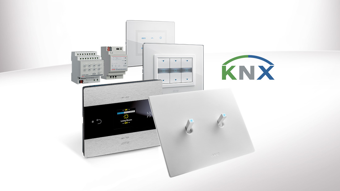 AVE's KNX range is even more complete with the Room Controller