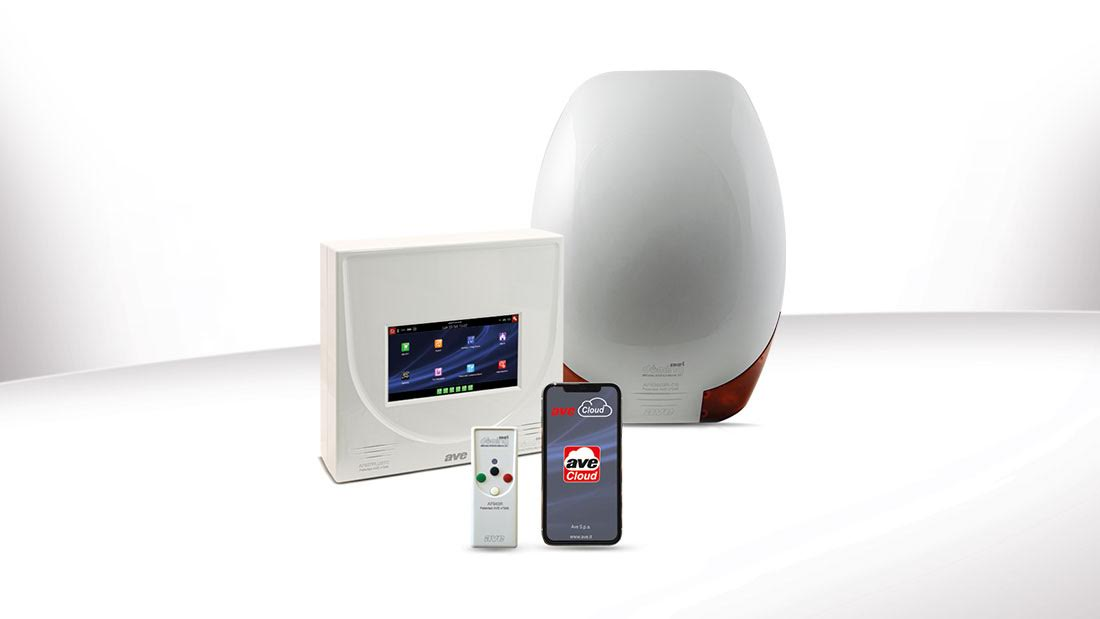 Antifurto smart AVE: ora compatibile anche con impianti radio preesistenti